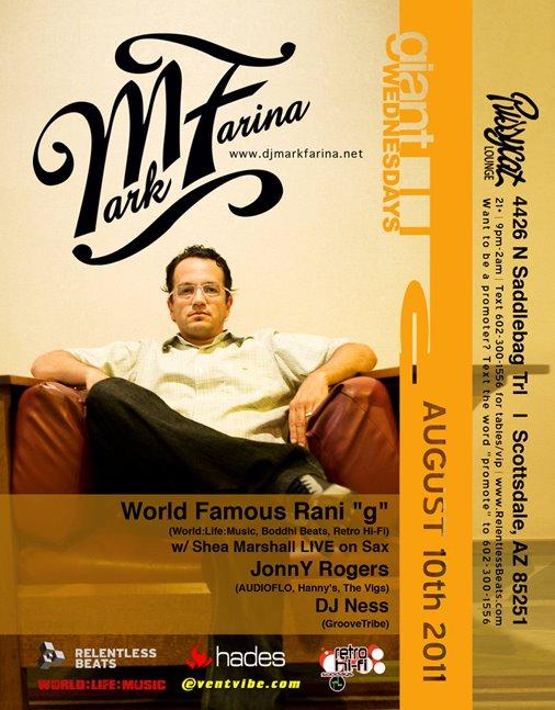 Mark Farina @ Giant Wednesday on 08/10/11