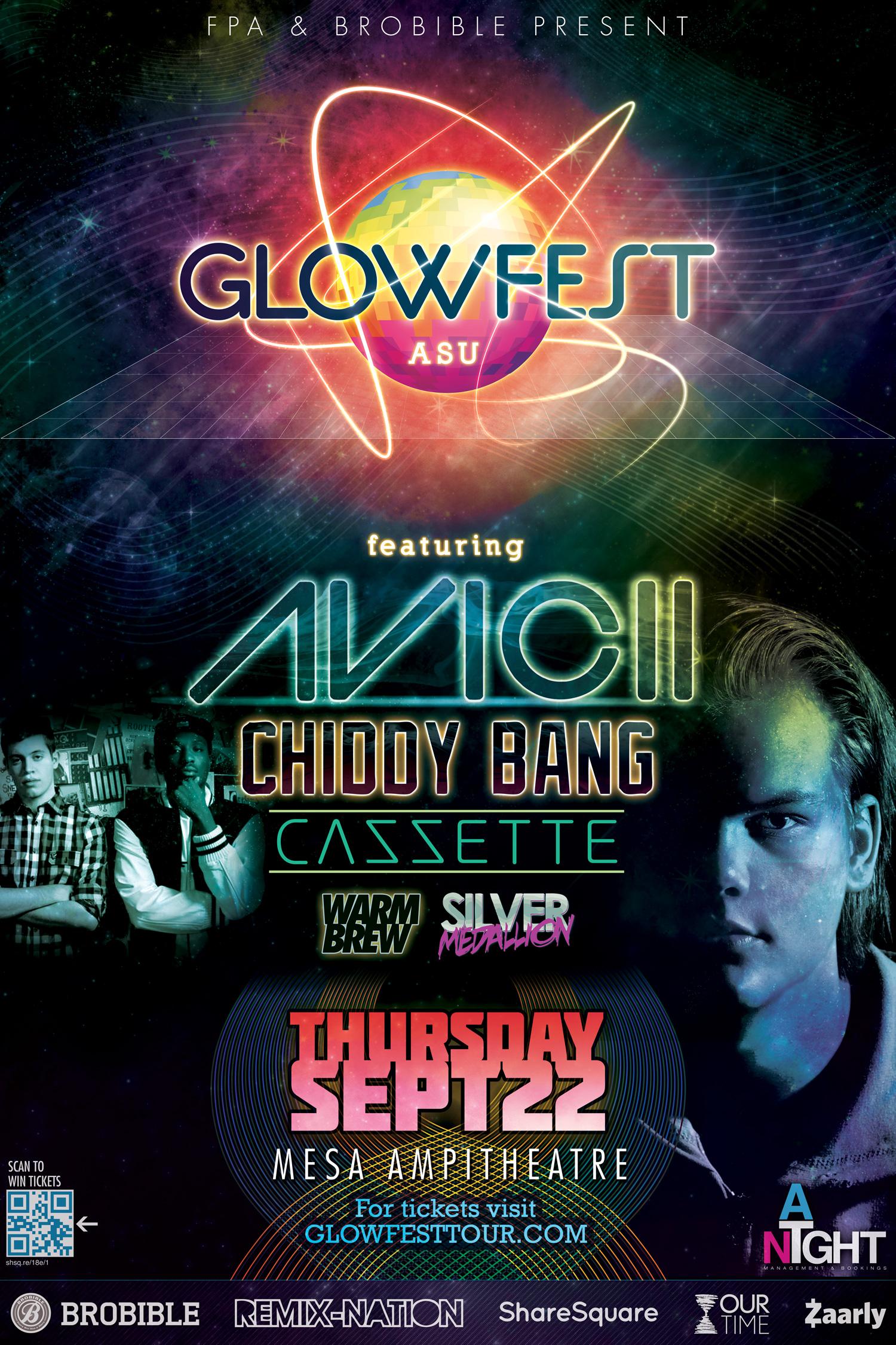 GLOWFEST ASU ft. AVICII on 10/22/11