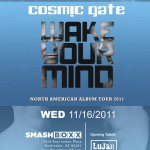 Giant Wednesday ft. Cosmic Gate - Wednesday, November 16, 2011