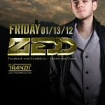 Zedd @ WIld Knight - Friday, January 13, 2012