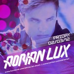 Adrian Lux @ Wild Knight - Friday, February 3, 2012