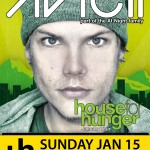 House for Hunger tour ft. AVICII - Sunday, January 15, 2012 at Phoenix Convention Center