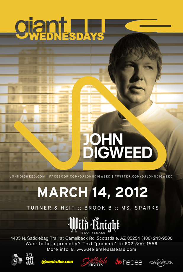 John Digweed @ Giant Wednesday on 03/14/12