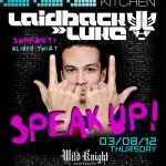 Laidback Luke at Sound Kitchen (Wild Knight) - Thursday, March 8, 2012