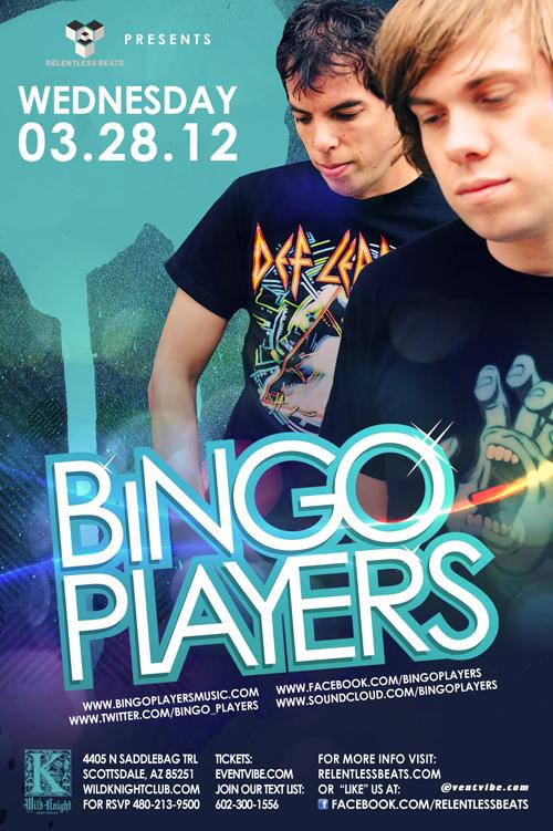 Bingo Players @ Giant Wednesday on 03/28/12