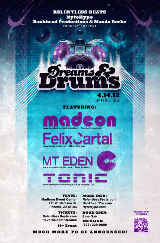 Dreams and Drums on 04/14/12