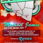 So Cal Send off ft. Michael James - Friday, March 30, 2012