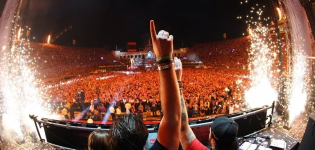 Swedish House Mafia at EDC 2011