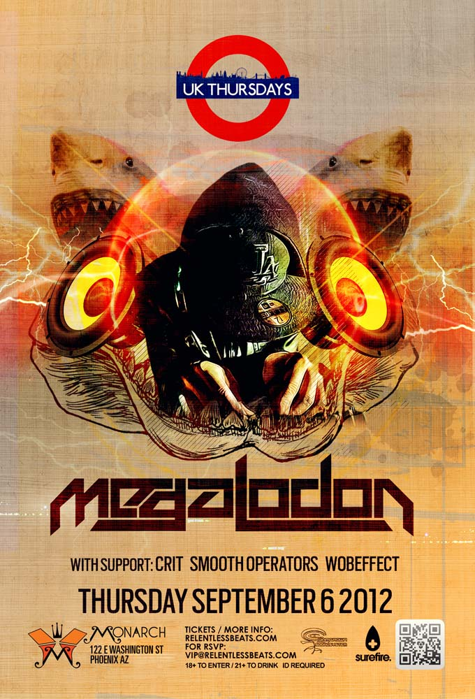 Post image for UK Thursdays + PK Sound + Megalodon = Complete Madness Tonight!
