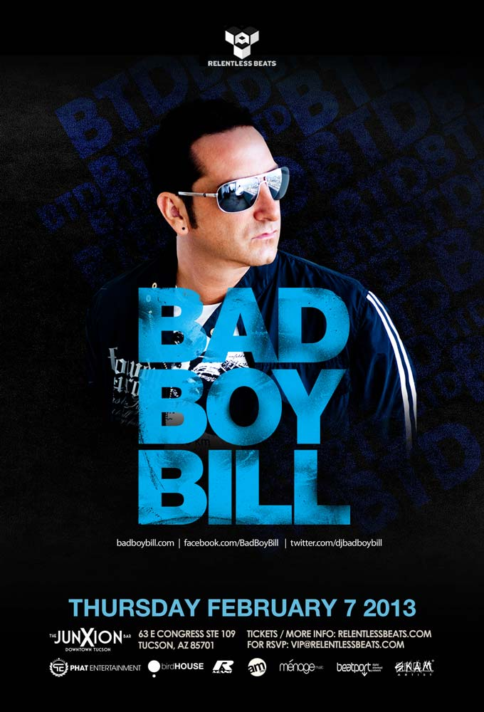 Bad Boy Bill @ JunXion on 02/07/13