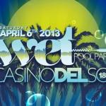 Wolfgang Gartner @ Wet Pool Party / Casino del Sol - Saturday, April 6, 2013