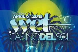 Wolfgang Gartner @ Wet Pool Party / Casino del Sol - Saturday, April 6, 2013