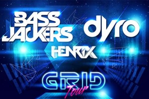 Grid Tour ft. Bassjackers, Dyro @ Sound Kitchen / Wild Knight - Friday, April 12, 2013