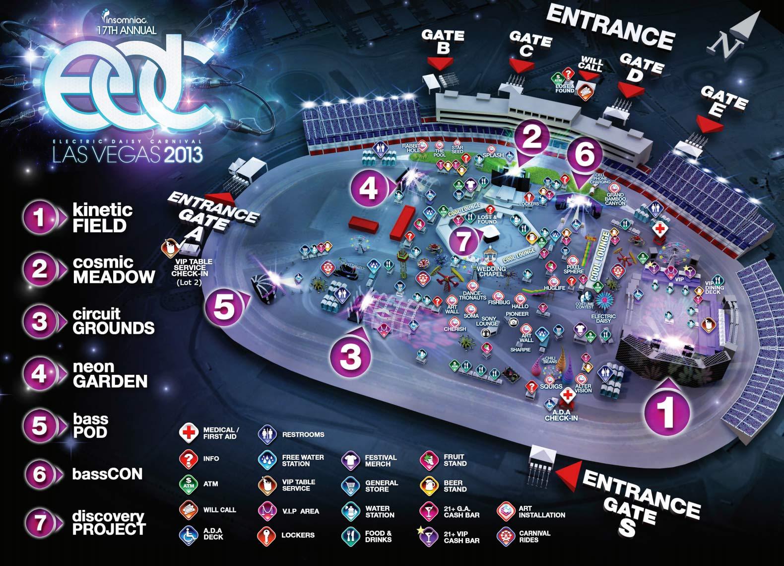 Edc Las Vegas 2013 The Rb Survival Guide Relentless Beats