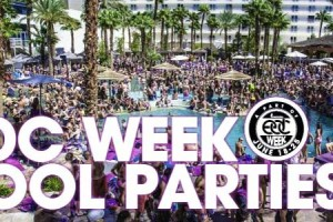 EDC Week Pool Parties 2013