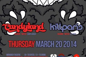 KillerFro Tour @ UK Thursdays / Monarch Theatre - Thursday, March 20, 2014