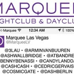 Marquee 2014 Lineup