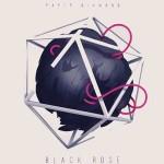 Paper Diamond - Black Rose