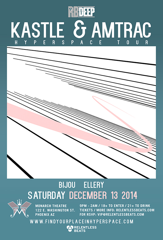 Kastle & Amtrac @ RB Deep - Hyperspace Tour on 12/13/14