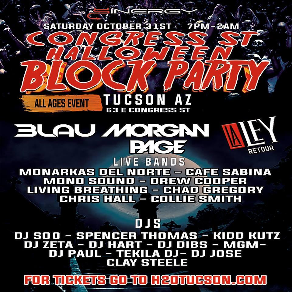 Congress St Halloween Block Party Tucson Info - 10/31/15 ...