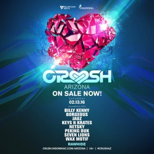 Crush Arizona 2016 on 02/13/16