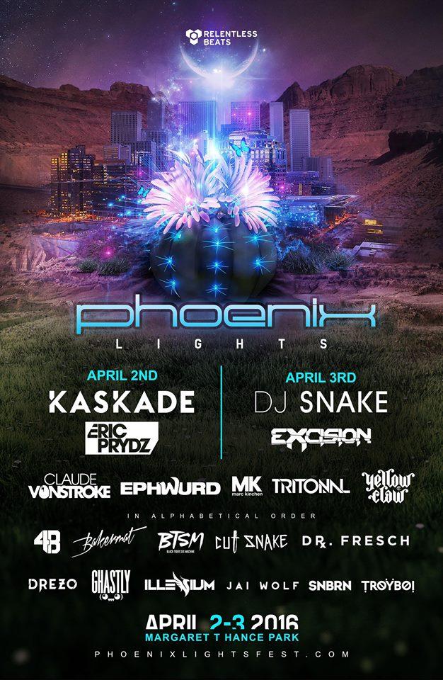 Phoenix Lights Poster
