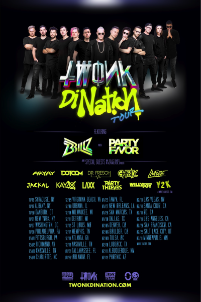 TWONK tour poster
