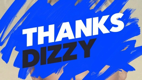 THANKS - Dizzy final cover small