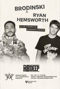 Brodinski + Ryan Hemsworth on 07/30/16