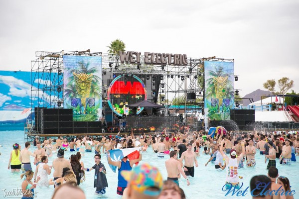Wet Electric feat. Dada Life & More @ Big Surf Waterpark - 160430 //  Photos by www.JacobTylerDunn.com