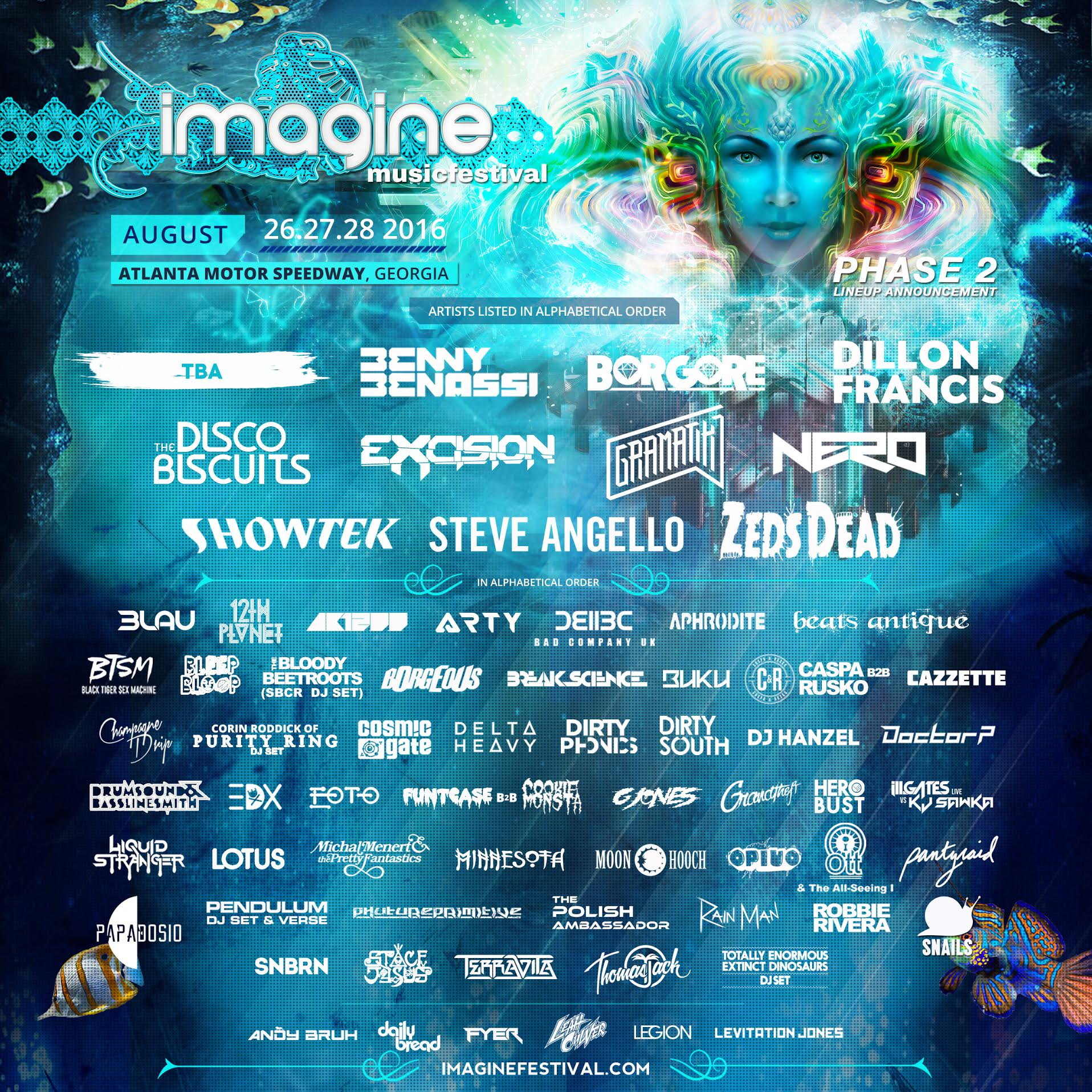 Phase 2 Lineup Poster