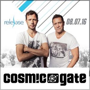 Cosmic Gate on 08/07/16