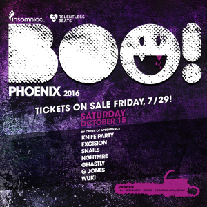 BOO! Arizona 2016 on 10/15/16