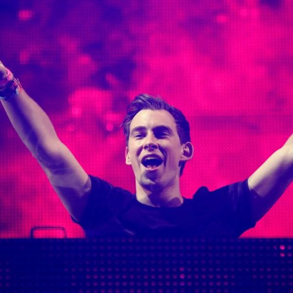 Robbert van de Corput aka Hardwell performs at the  Ultra Music Festival at Bayfront Park, on Sunday, March 30, 2014 in Miami, Florida. (Photo by John Davisson/Invision/AP)