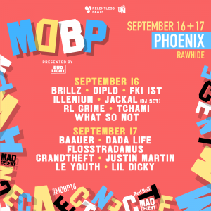 Mad Decent Block Party 2016 - Phoenix on 09/16/16