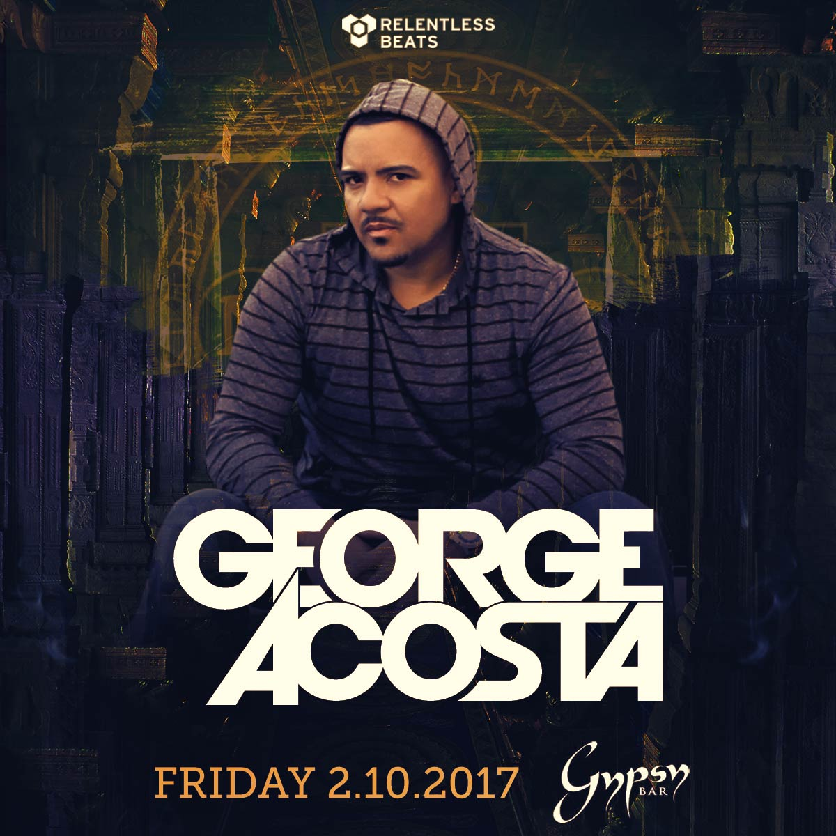 Flyer for George Acosta