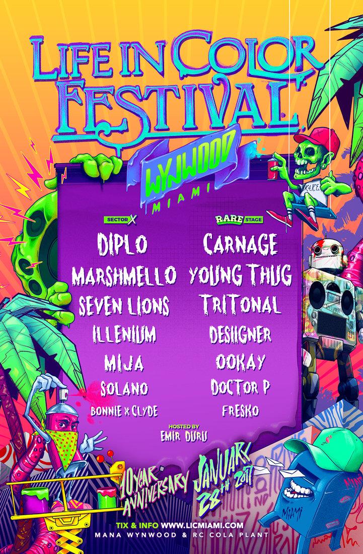 LIC Miami Lineup