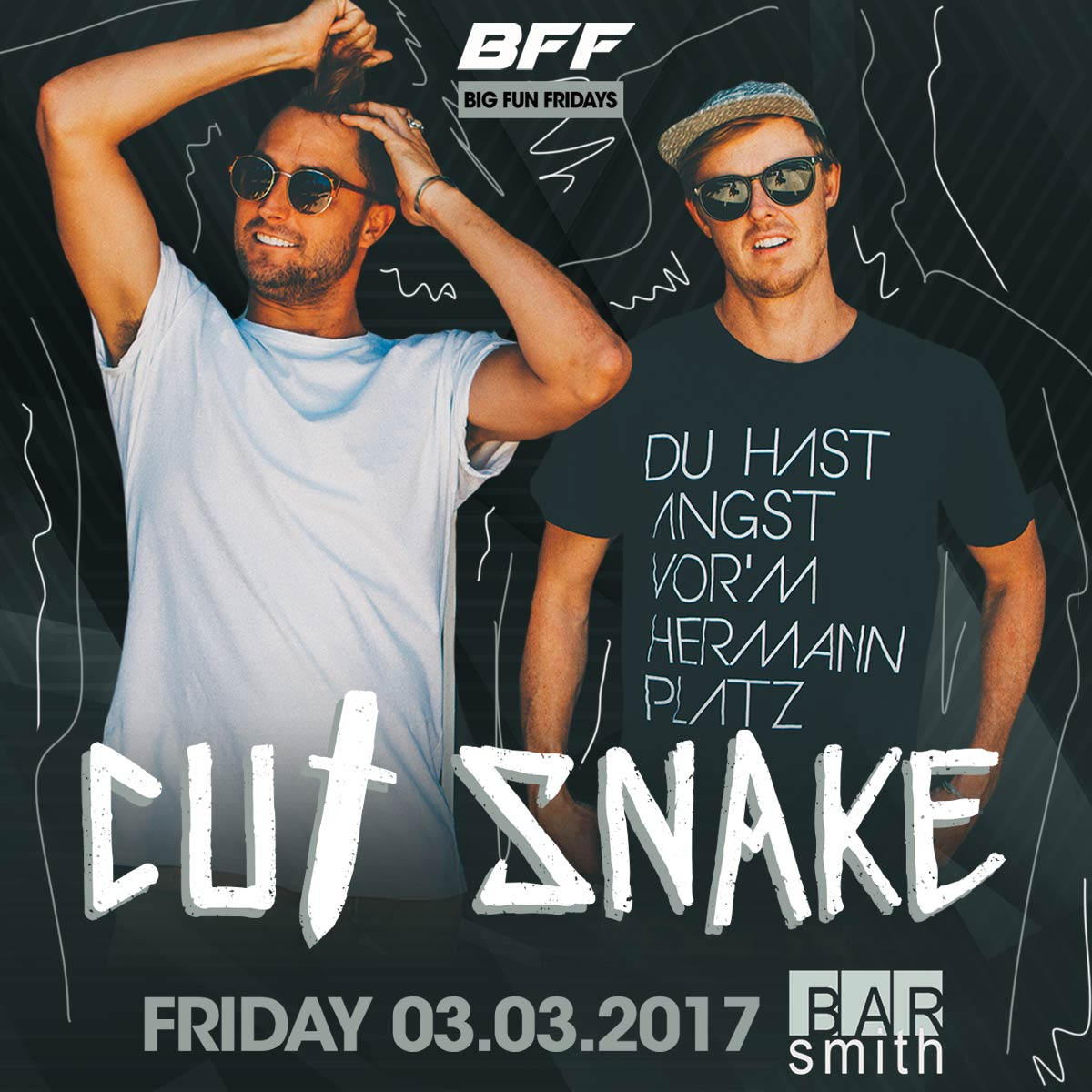 Flyer for Cut Snake - BFF
