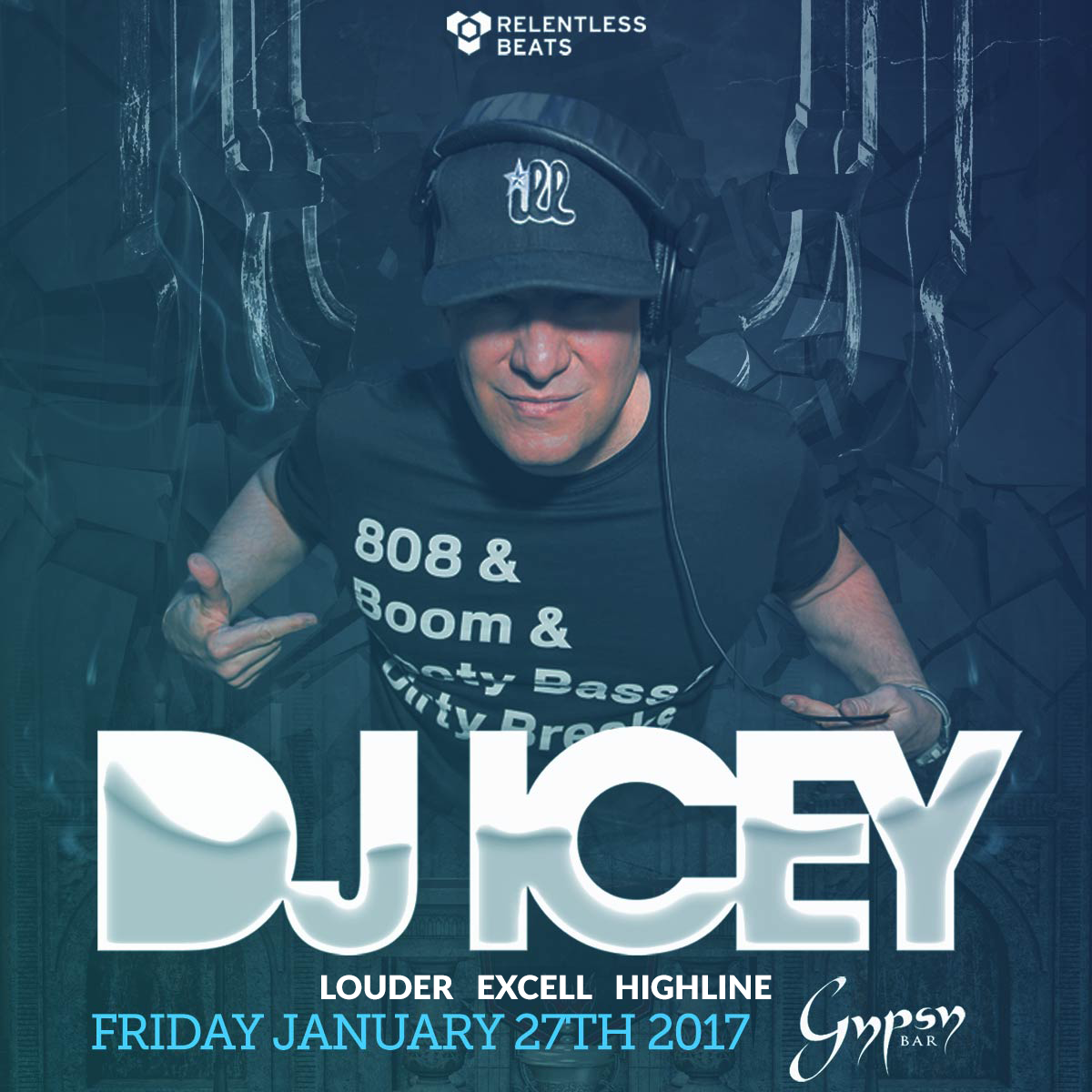 Flyer for Dj Icey