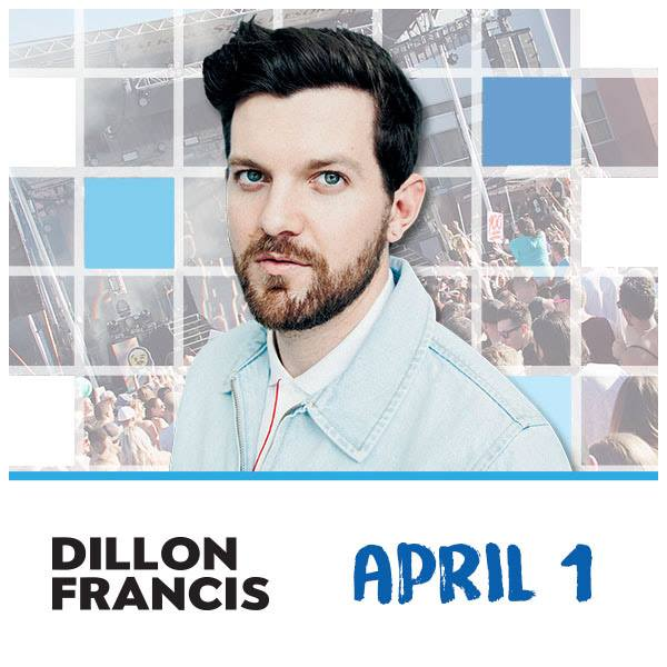 Flyer for Dillon Francis