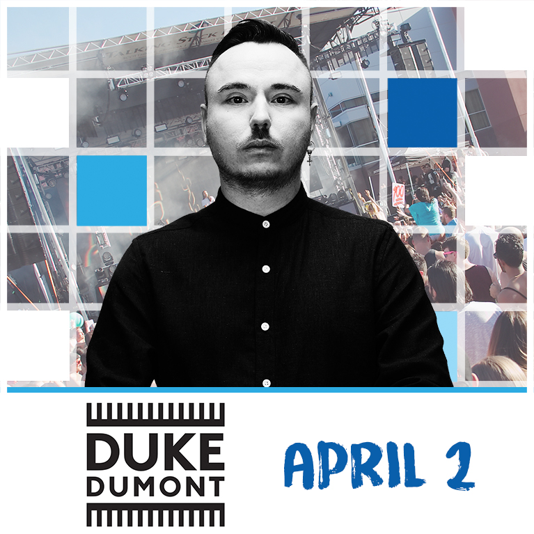 Flyer for Duke Dumont