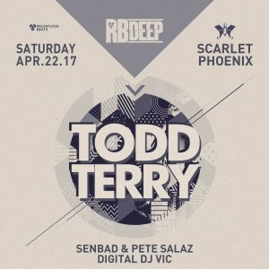 Todd Terry on 04/22/17