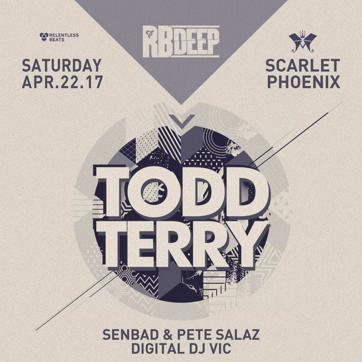 Flyer for Todd Terry