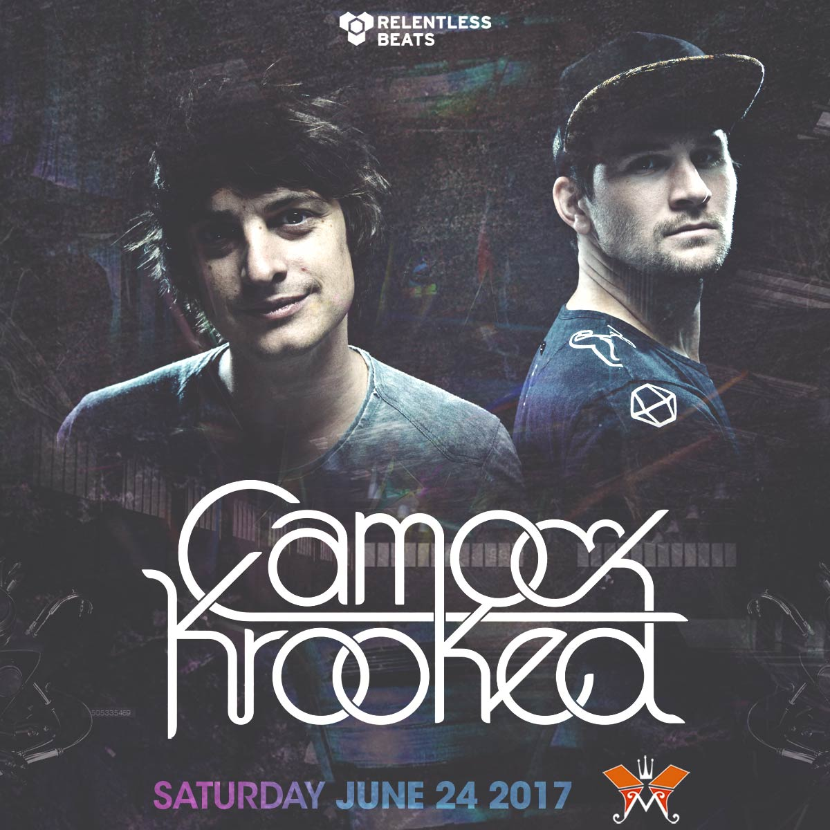 Flyer for Camo & Krooked