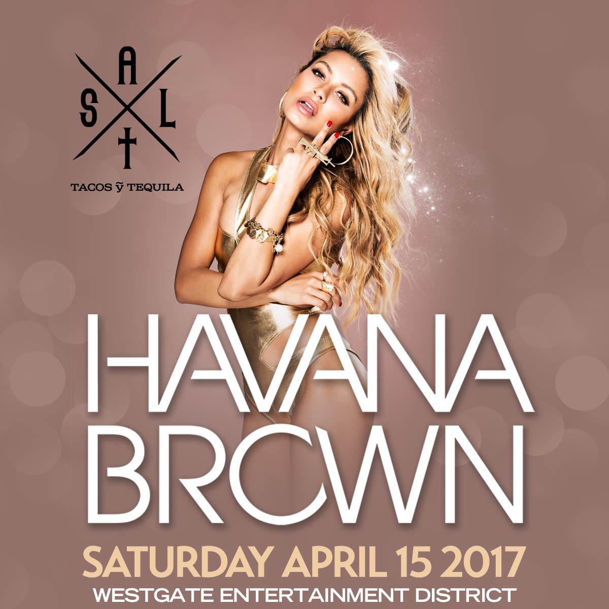 Flyer for Havana Brown