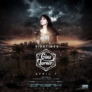 Gina Turner - Sightings: On the Road to Phoenix Lights Official Pre-Party on 04/07/17