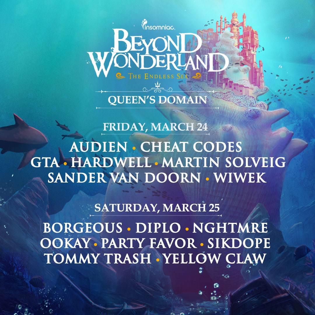 BW Queen's Domain lineup