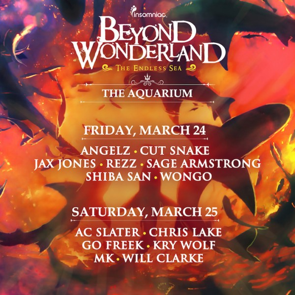 BW The Aquarium lineup