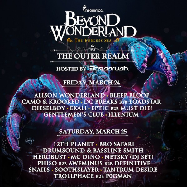 BW The Outer Realm lineup