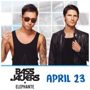 Bassjackers + Elephante on 04/23/17